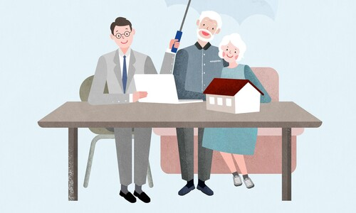 은퇴가구, 공적연금보다 주택연금 올라야 지갑 열었다