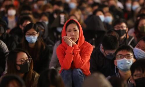 """홍콩 시민의 """"간절한 바람"""""""