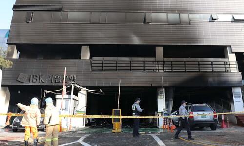 아찔했던 일산 여성병원 화재…바로옆 소방서 참사 막아