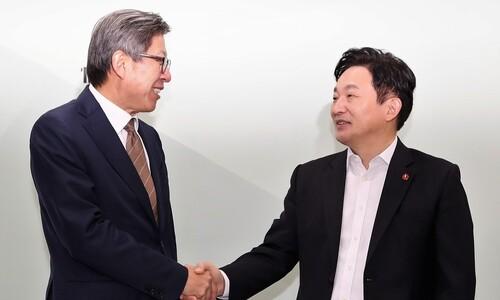 혁신통합추진위원회, 이번엔 원희룡 지사에 '러브콜'