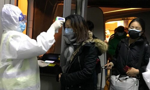 28일부터 중국서 오는 모든 입국자 '건강상태질문서' 의무화