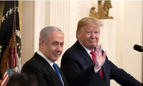 트럼프 중동 평화안, 이스라엘에 포위된 구멍난 팔레스타인?