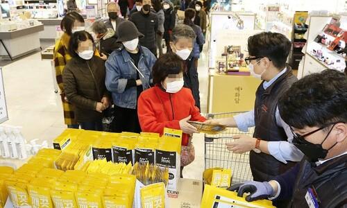 국세청, 매점매석·탈세 마스크 제조·유통업체 263곳 조사 착수