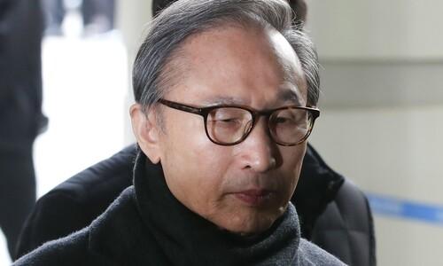 """이명박, 재구속 6일만 석방…""""대법 보석 취소여부 결정 때까지"""""""