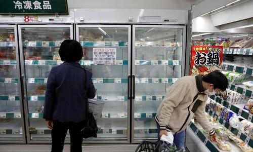 [르포] 도쿄 외출자제 첫날…번화가가 '침묵의 거리' 돌변