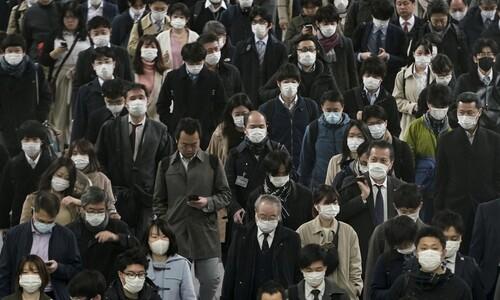 일본, 아베-아소 회의 동석 안 한다…코로나19 감염 우려