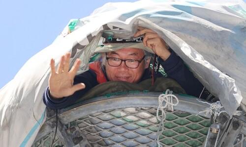 [만리재사진첩] 삼성 해고노동자 김용희의 철탑 위 300일