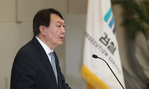 """""""장모·부인 의심받는 상황""""…검찰 수사관, 윤석열 퇴진 요구"""