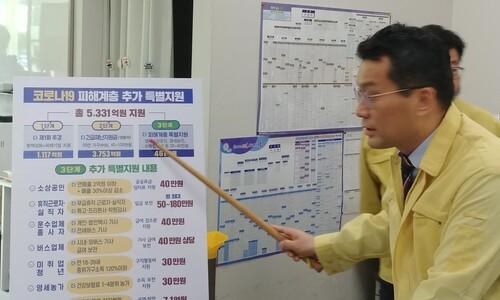 충북도, 소상공인·농민·예술인·기사 특별 '핀셋' 지원