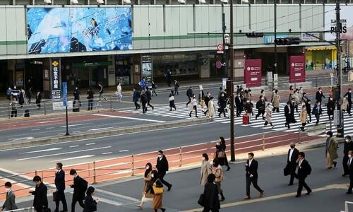 일본 긴급사태 발령 뒤 첫날 '휴업 혼란'