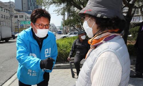 서울 동대문을 무소속 민병두 후보 사퇴 뜻 밝혀