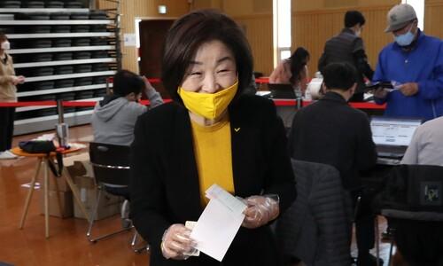 """심상정 """"개혁의 마지막 보루 정의당 지켜달라"""""""