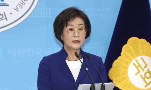 """'성추행 의혹'에 민주당 여성의원들 """"서울시 직접 조사 나서라"""""""