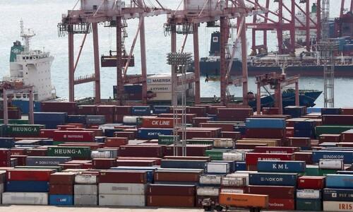 4월 수출물량 금융위기 이후 최대폭 감소