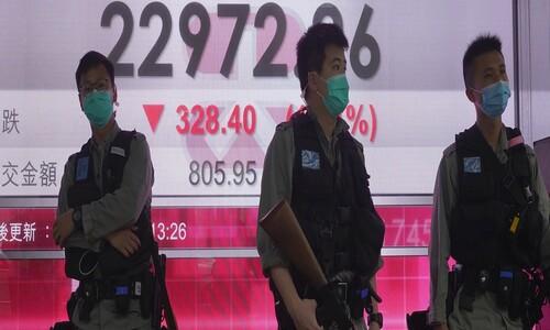 미·중 싸움에 홍콩 '금융 허브' 흔들