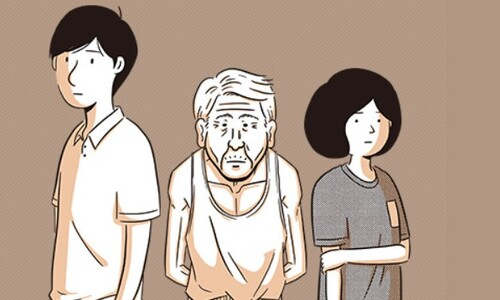 치매 환자 가족 이야기