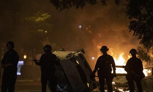 """킹 목사 암살 때처럼 '들불'…유럽서도 """"숨 쉴수 없다"""" 시위"""