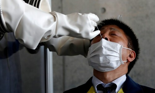 일본 정부, 타액 이용 검사법 허용…코로나 검사 부족 지적 의식