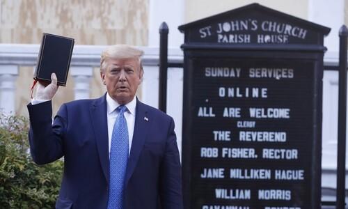 '반란법'을 시위대에 꺼내려는 트럼프…국방부서도 회의론