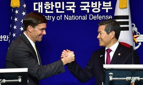 """미국 """"주한미군 한국인 근로자 인건비 한국 부담에 합의"""""""