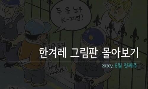 한겨레 그림판 몰아보기_6월 첫째주