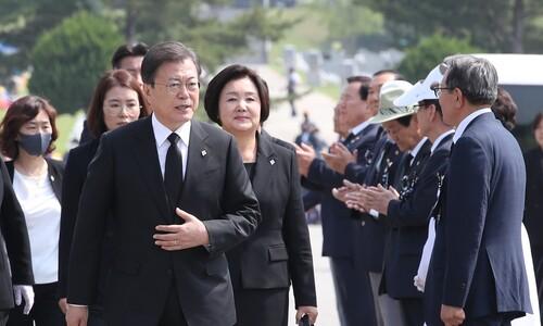 """문재인 대통령 """"평화는 국민이 누려야 할 마땅한 권리"""""""