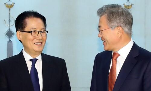 """""""박지원 국정원장 '깜짝 발탁'은 북-미 양쪽에 보내는 메시지"""""""