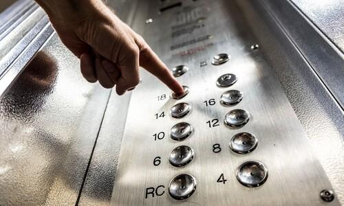 """코로나 시대의 생활예절…""""엘리베이터에선 말하지 마세요"""""""