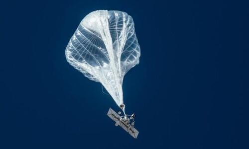 성층권 풍선인터넷이 공식 서비스를 시작했다