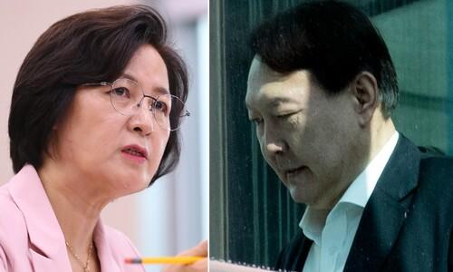 법무부 들여다보는 최강욱…추미애 '입장문 가안' 유출