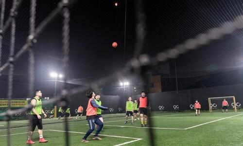 달밤의 축구