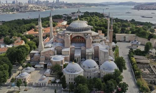 터키 '성소피아' 박물관, 85년만에 이슬람 사원 '모스크'로 전환