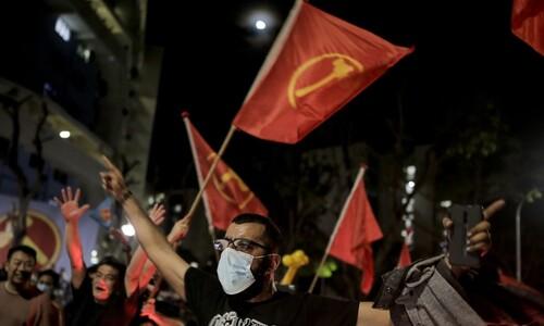싱가포르 총선 사상 첫 '야 바람'