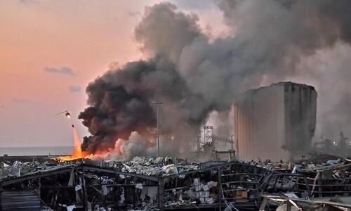 [영상] 원자폭탄 터진 듯 초토화된 베이루트…사고? 공격?