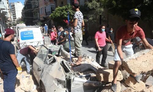 '위험 경고'에도 질산암모늄 방치, 레바논 성난 민심도 폭발 직전