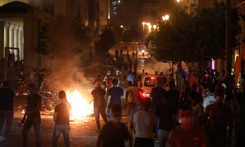 """""""정부가 테러리스트""""…레바논 대폭발 '인재'에 성난 시민들"""