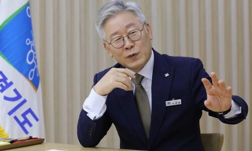 """이재명 """"대부업 금리 24%→10%로""""…여당의원 176명에 편지"""