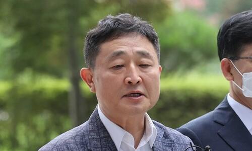 """'386 운동권' 출신 허인회 구속…법원 """"도주 우려 있다"""""""
