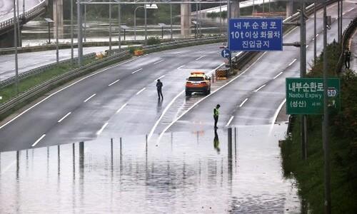 서울 올림픽대로·동부간선도로 일부 구간 통제