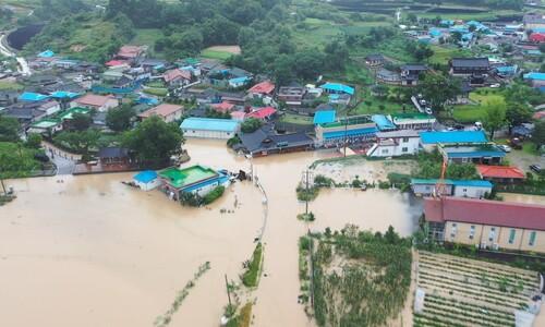 """폭우 전 """"방류량 축소"""" 요청한 금산군…곧이곧대로 들어준 수공"""