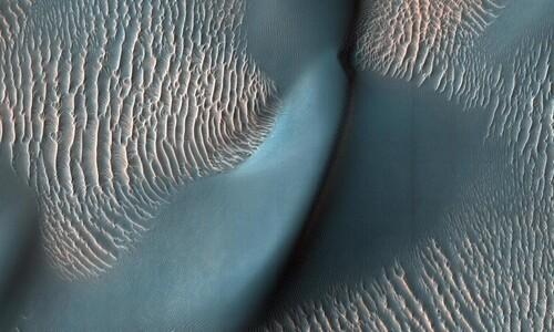하늘에서 본 화성의 천태만상
