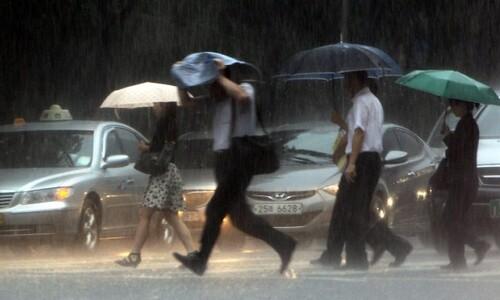 오늘 저녁부터 내일 낮 사이 중부지방 300㎜ 폭우