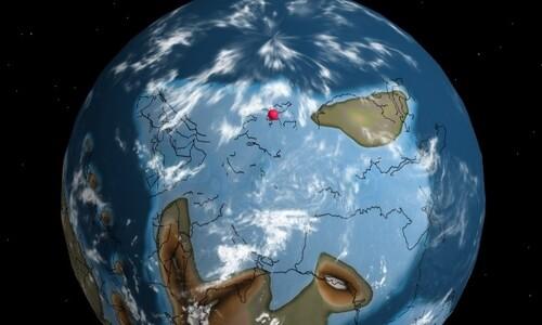 7억5천만년 전 지구를 본다…서울은 어디에?