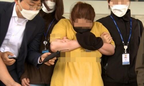 징역 22년 받은 동거남 아들 여행가방 감금 살인 40대 '항소'