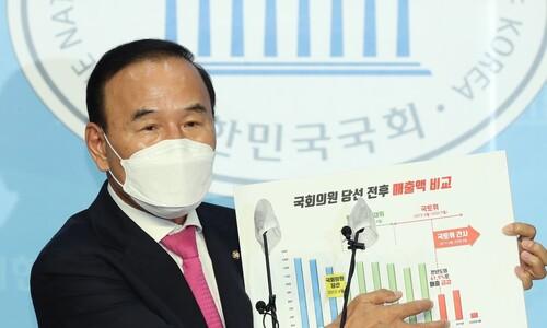 """박덕흠, 수천억대 수주 의혹 전면 부인…""""외압‧청탁 없다"""""""