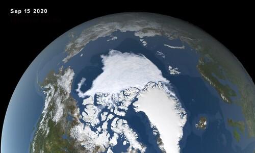 기후변화 탓…북극해빙 면적 역대 두번째로 작아