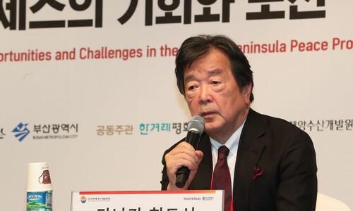 """""""하룻밤에 비핵화란 불가능하다"""" 다나카의 '외로운 외침'"""