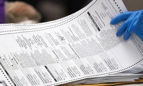 """미 법원 """"위스콘신주 부재자 투표 개표, 대선 뒤 6일까지 가능"""""""