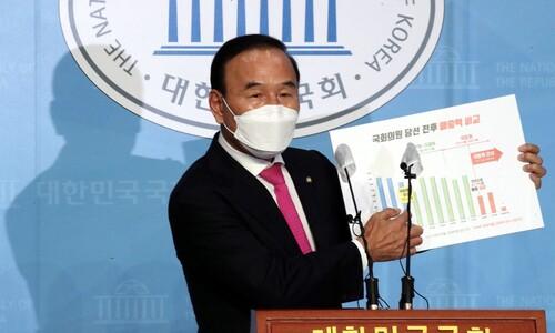 """민주당 """"뻔뻔한 거짓해명""""…'박덕흠 사퇴' 파상공세"""