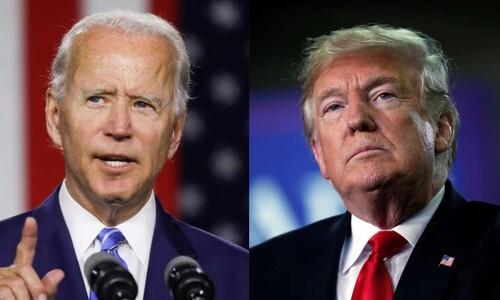 미 대선 막판 '돈의 전쟁'…바이든, TV광고 지출도 트럼프 압도